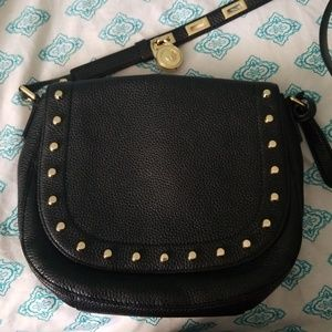 MK Side bag with gold studs